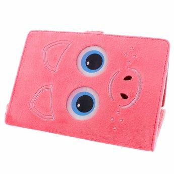 """TabZoo TabZoo Varkentje - tablet case met bewegende oogjes (7/8"""")"""