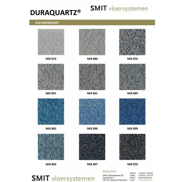 DuraQuartz Kleurstaal - 15x15cm