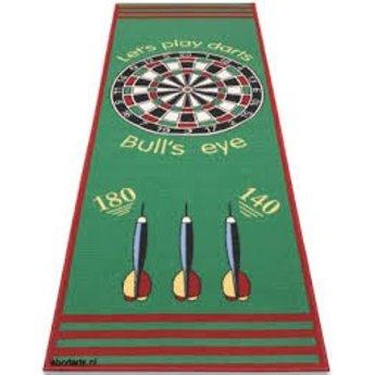 Bull's Bull's Carpet Dartmat groen 240 x 80 cm