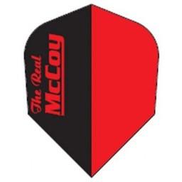 McCOY the Real McCOY Pro-STD- zwart rood. rode tekst