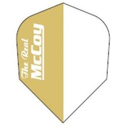 McCOY the Real McCOY Pro-STD- goud wit. witte tekst