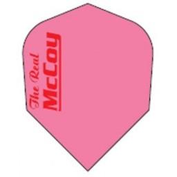 McCOY the Real McCOY Pro-STD- Fluro roze.rode tekst