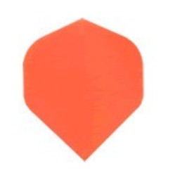 Dartshop Kattestaart Poly flights STD Fluro oranje