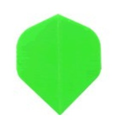 Dartshop Kattestaart Poly flights STD Fluro groen