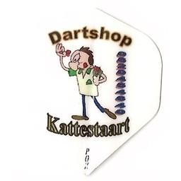 Dartshop Kattestaart Bedrukte LOGO / AFBEELDING flights