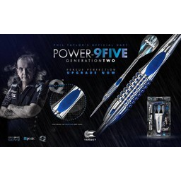Target Target Power 22 gram Phil Taylor 9Five GEN 2 95% tungsten darts