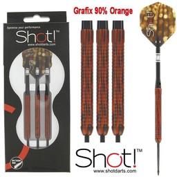 Shot Shot Grafix Orange Camo 21 gram Darts