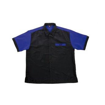 Bull's Bull's 100% Polyesther Dartshirt S t/m XXXXL - Black Blue