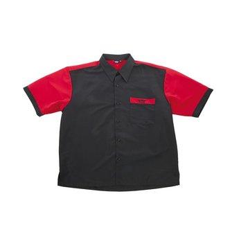 Bull's Bull's 100% Polyesther Dartshirt S t/m XXXXL - Black Red