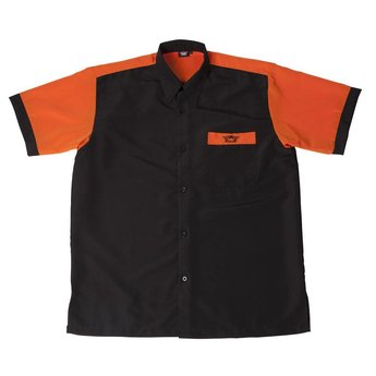 Bull's Bull's 100% Polyesther Dartshirt S t/m XXXXL - Black Orange