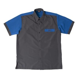 Bull's Bull's 100% Polyesther Dartshirt S t/m XXXXL - Grey Blue