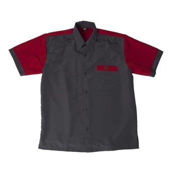 Bull's Bull's 100% Polyesther Dartshirt S t/m XXXXL - Grey Red