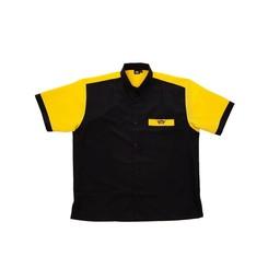 Bull's Bull's 100% Polyesther Dartshirt S t/m XXXXL - Black Yellow