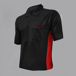 Target Target Coolplay Hybrid Dartsshirt Black Red