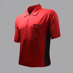 Target Target Coolplay Hybrid Dartsshirt Red Black