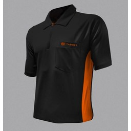 Target Target Coolplay Hybrid Dartsshirt Black Orange