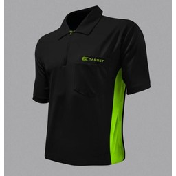 Target Target Coolplay Hybrid Dartsshirt Black Green