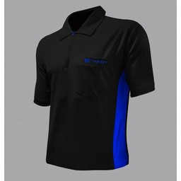 Target Target Coolplay Hybrid Dartsshirt Black Blue