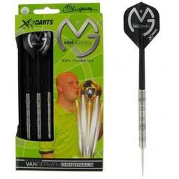 XQdartsMAX XQDartsMax Michael van Gerwen 25 gram 90% Tungsten darts