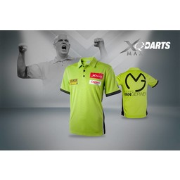 XQdartsMAX XQDartsMax Michael van Gerwen Replica shirt maat Large
