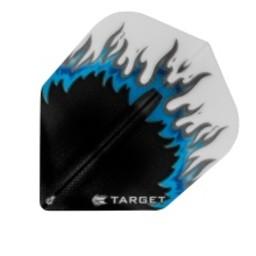 Target Target Pro 100 Vision Flames Zwart-Blauw-Wit