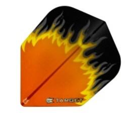 Target Target Pro 100 Vision Flames Oranje-Geel-Zwart