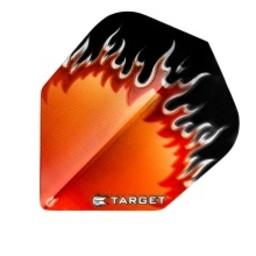 Target Target Pro 100 Vision Flames Rood-Wit-Zwart