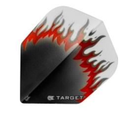 Target Target Pro 100 Vision Flames Zwart-Rood-Wit