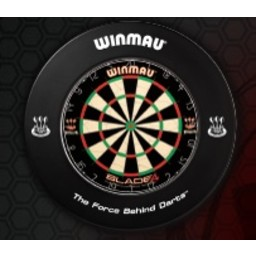 Winmau Winmau Dartsbord Surround Ring printed Zwart