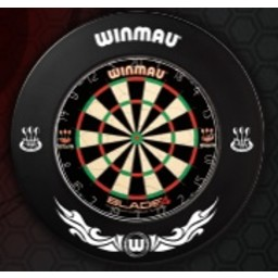 Winmau Winmau Dartsbord Surround Ring printed Zwart EXTREME