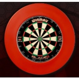 Dartsbord Surround Ring Plain Rood