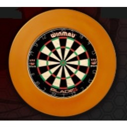 Dartsbord Surround Ring Plain Oranje