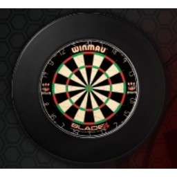 Dartsbord Surround Ring Plain Zwart