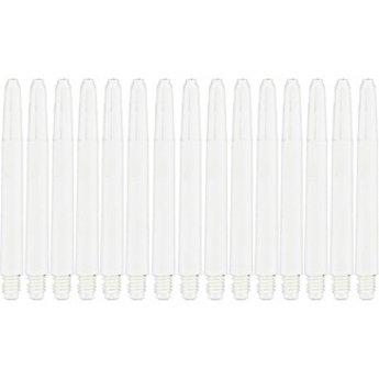 Dartshop Kattestaart Delflectagrip Nylon shafts CLEAR