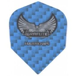 Harrows Harrows Graflite flights STD blauw