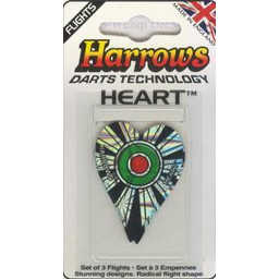 Harrows Harrows Heart Bullseye