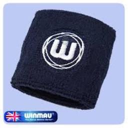 Winmau Winmau Sports Wrist Band Donker Blauw