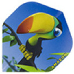 Dartshop Kattestaart Dartshop Kattestaart amazon cartoon fun flight STD Toucan