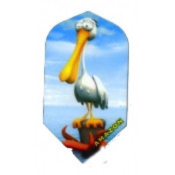 Dartshop Kattestaart Dartshop Kattestaart amazon cartoon fun flight Slim Pelican
