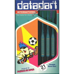 Datadart Datadart Colored Brass Dart Groen 21g