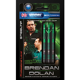 Winmau Winmau Brendan Dolan 23 gram  90% Tungsten Darts