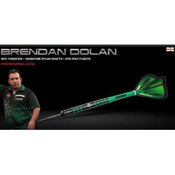 Winmau Winmau Brendan Dolan 25 gram  90% Tungsten Darts