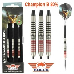 Bull's CHAMPION B 80% Tungsten 22g