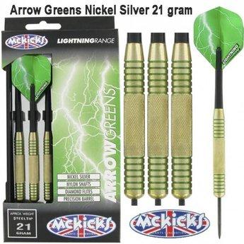 McKicks Arrow Greens Nickel Silver 21g