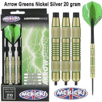 McKicks Arrow Greens Nickel Silver 20g