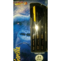 Datadart GT Brass Darts Gorilla 'the count' 21g