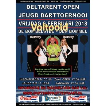 Dartshop Kattestaart Deltarent Open Darts vrijdag 09 februari 2018 + zaterdag 10 februari 2018
