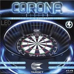 Target Target Corona Vision  Dartboard LED System