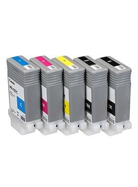 Canon Set Inkt 130 ml PFI-107 5 kleuren