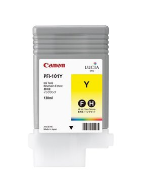 Canon Pigment Ink 130ml Yellow PFI-101Y